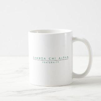 Lambda Chi Alpha Lock Up Coffee Mug