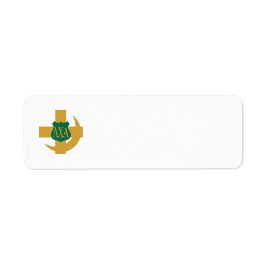 Lambda Chi Friendship Pin Label