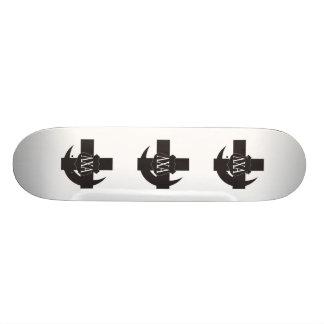 Lambda Chi Friendship Pin Skateboard