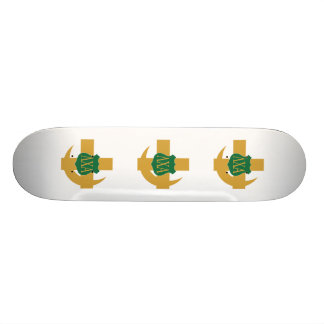 Lambda Chi Friendship Pin Skateboard Deck