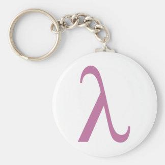 Lambda Key Chain
