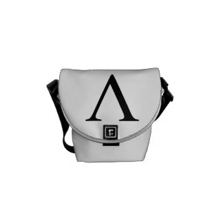 Lambda Messenger Bag