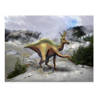 Lambeosaurus Dinosaur Postcard