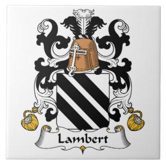 Lambert Family Crest Ceramic Tile