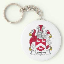 Lambert Family Crest Keychain