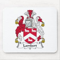 Lambert Family Crest Mousepad
