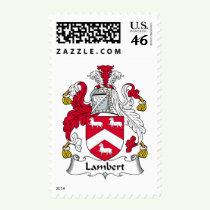 Lambert Family Crest Stamps