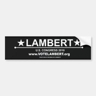 Lambert for Congress Bumper Sticker