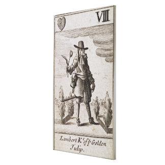Lambert Simnel, Knight of the Golden Tulip Canvas Print