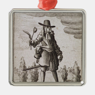 Lambert Simnel, Knight of the Golden Tulip Metal Ornament