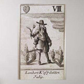 Lambert Simnel, Knight of the Golden Tulip Poster
