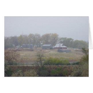 Lambertson Farm Overcast Card