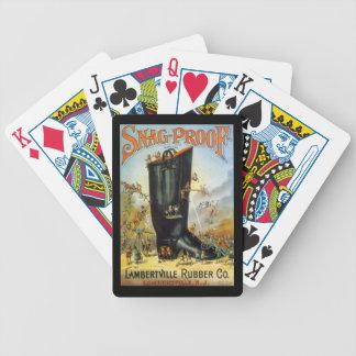 Lambertville Rubber Co Antique Ads Cards Deck NJ