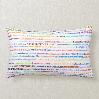 Lambertville Text Design II Lumbar Pillow
