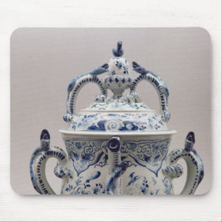 Lambeth Delftware posset pot, blue and white Mouse Pad