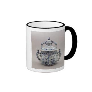 Lambeth Delftware posset pot, blue and white Ringer Coffee Mug