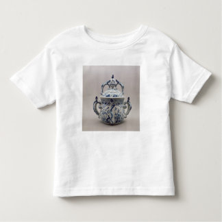 Lambeth Delftware posset pot, blue and white Toddler T-shirt