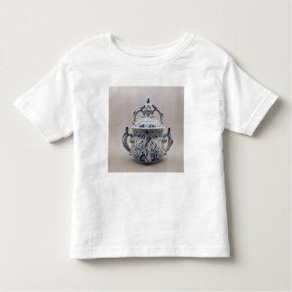 Lambeth Delftware posset pot, blue and white Toddler T-shirt