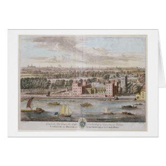 Lambeth Palace, seat of the Archbishop of Canterbu Greeting Card
