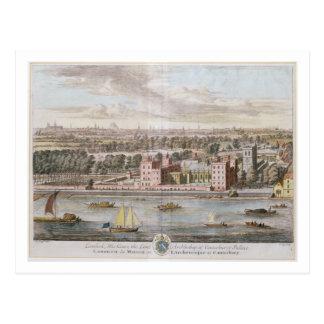 Lambeth Palace, seat of the Archbishop of Canterbu Postcard