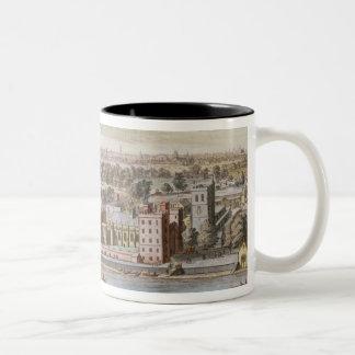 Lambeth Palace, seat of the Archbishop of Canterbu Two-Tone Coffee Mug