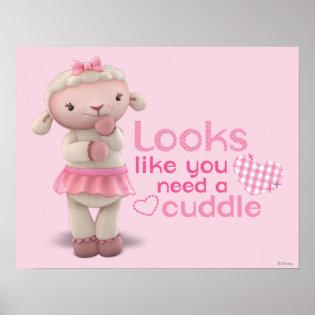 Lambie - Looks Like You Need a Cuddle Print