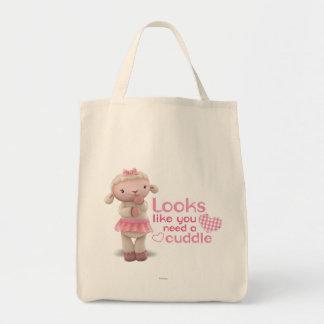 Lambie - Looks Like You Need a Cuddle Tote Bag