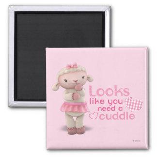 Lambie - los parecer usted necesitan una abrazo imán cuadrado