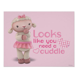 Lambie - los parecer usted necesitan una abrazo póster
