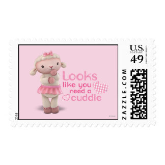 Lambie - los parecer usted necesitan una abrazo timbres postales
