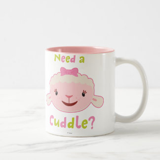 Lambie - necesite una abrazo 2 taza de café de dos colores