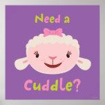 Lambie - necesite una abrazo póster