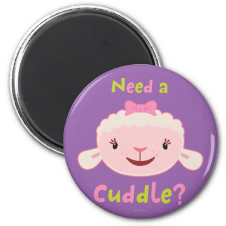 Lambie - Need a Cuddle 2 2 Inch Round Magnet
