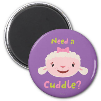 Lambie - Need a Cuddle 2 Inch Round Magnet