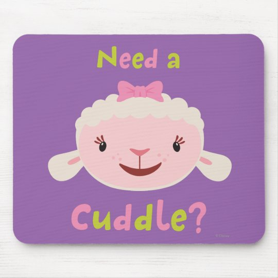 Lambie - Need a Cuddle Mouse Pad