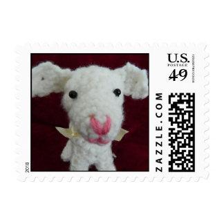 Lambie the Goat Amigurumi Crochet Postage