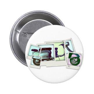 lambretta photo montage 2 inch round button