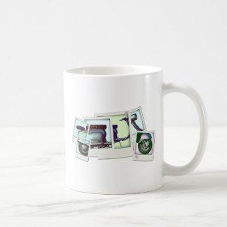 lambretta photo montage coffee mug