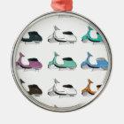 Lambretta Pop Art Metal Ornament