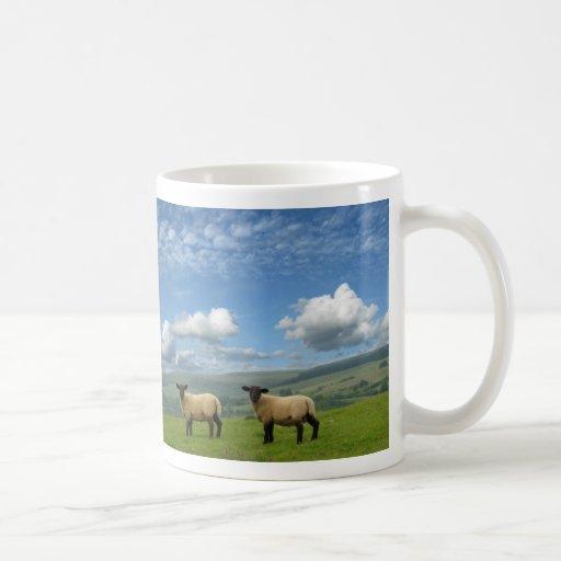 Lambs Basic White Mug