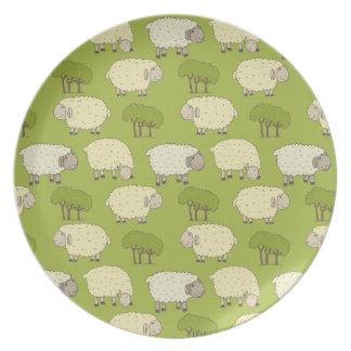 lambs dinner plate