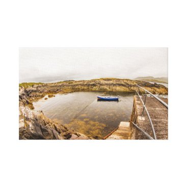 "Beach Themed ""Lambs Head Pier, Ireland"" wall art"