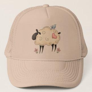 Lambs Heart Trucker Hat