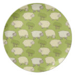 lambs party plates