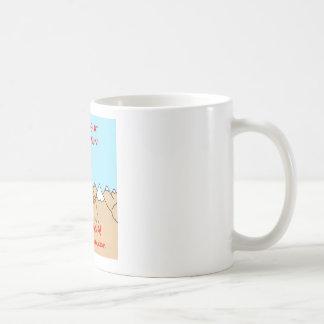 lambspun del knirvana que hace punto taza básica blanca