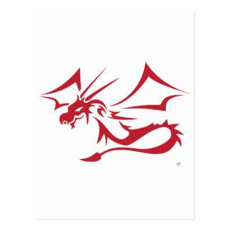 Lambton el dragón rojo postal