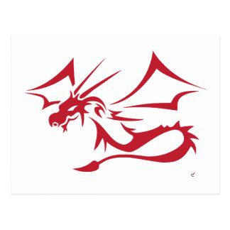 Lambton el dragón rojo tarjetas postales
