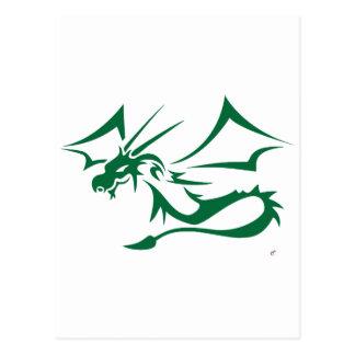 Lambton el dragón verde postal