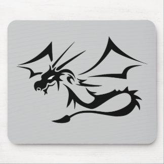Lambton the Black Dragon Mouse Pad