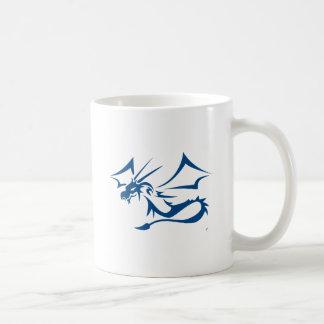 Lambton the Blue Dragon Coffee Mug